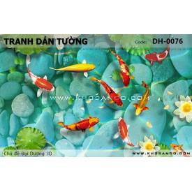 Tranh dán tường Đại Dương 3D DH-0076