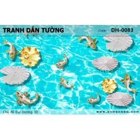 Tranh dán tường Đại Dương 3D DH-0083