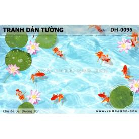 Tranh dán tường Đại Dương 3D DH-0096