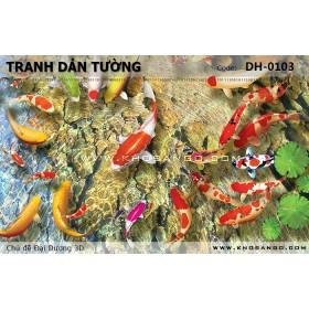 Tranh dán tường Đại Dương 3D DH-0103