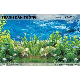 Tranh dán tường Đại Dương 3D KT-013