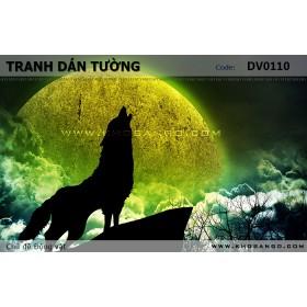 Tranh dán tường Động vật DV0110