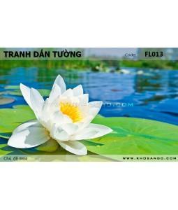 Tranh dán tường Hoa FL013