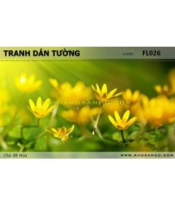 Flower wallpaper FL026