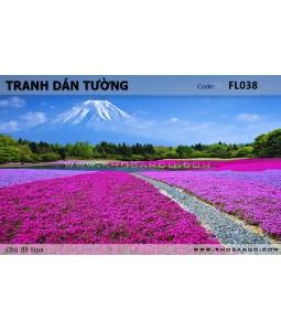 Flower wallpaper FL038