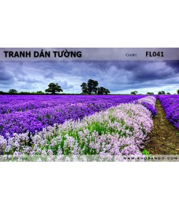 Flower wallpaper FL041