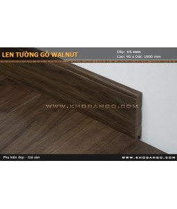 walnut skirting