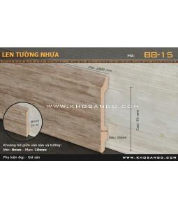 Len Tường nhựa B8-15