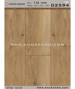 Sàn gỗ Thụy Sỹ D2594