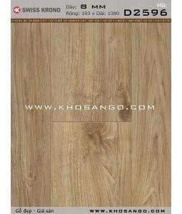 Sàn gỗ Thụy Sỹ D2596