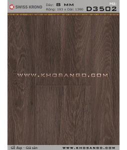 Sàn gỗ Thụy Sỹ D3502