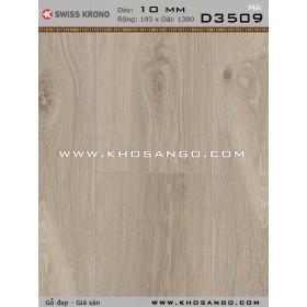 Sàn gỗ Thụy Sỹ D3509