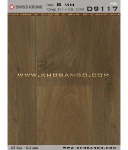 Sàn gỗ Thụy Sỹ D9117