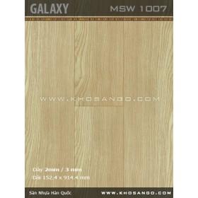 Sàn nhựa Galaxy MSW1007