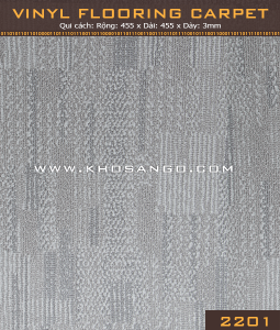 Vinyl Flooring Carpet  2201