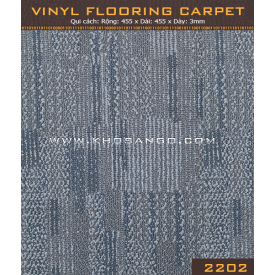 Vinyl Flooring Carpet  2202