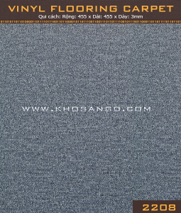 Vinyl Flooring Carpet  2208