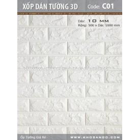 Xốp dán tường 3D C01