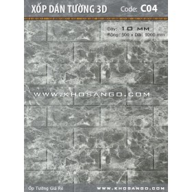 Xốp dán tường 3D C04