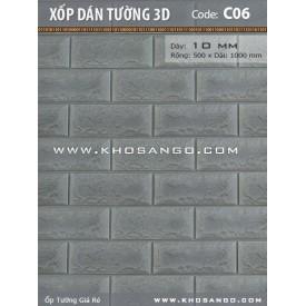 Xốp dán tường 3D C06