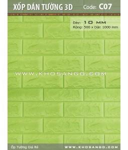 3D wall tiles 3D C07