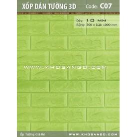 Xốp dán tường 3D C07