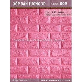 Xốp dán tường 3D C09
