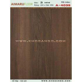 Sàn nhựa AIMARU A-4039