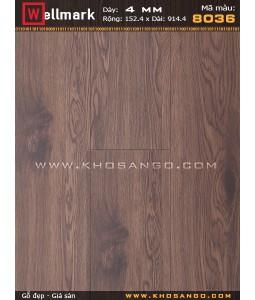 Wellmark click lock vinyl flooring 8036