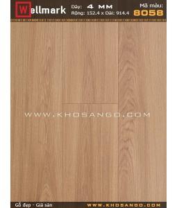 Wellmark click lock vinyl flooring 8058
