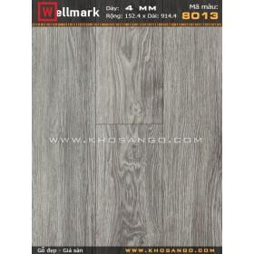 Sàn nhựa hèm khoá Wellmark 8013