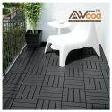 PVC Decking Tiles 300x300