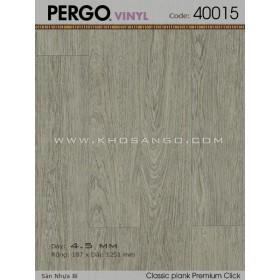 Sàn nhựa Pergo 40015