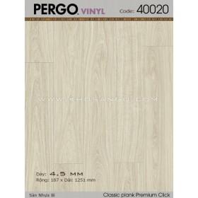 Sàn nhựa Pergo 40020