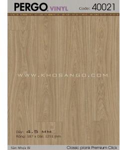 Pergo Plastic Floors 40021