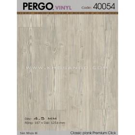 Sàn nhựa Pergo 40054