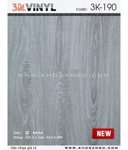 Sàn nhựa 3K Vinyl K190