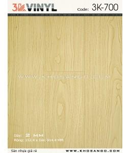 Sàn nhựa 3K Vinyl K700