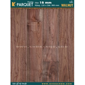 Sàn gỗ Walnut Engineered 15x120x900