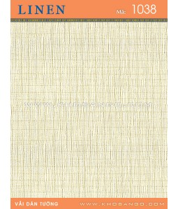 Vải dán tường Linen 1038