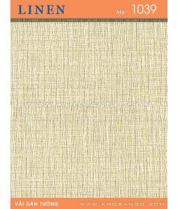 Vải dán tường Linen 1039