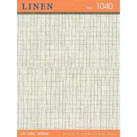Vải dán tường Linen 1040