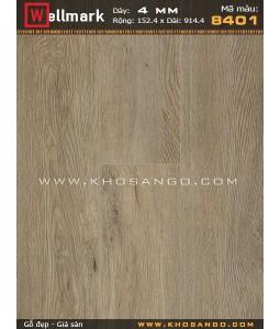 Wellmark click lock vinyl flooring 8401