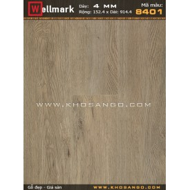 Sàn nhựa hèm khoá Wellmark 8401