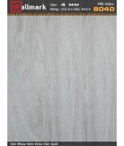 Wellmark click lock vinyl flooring 8040