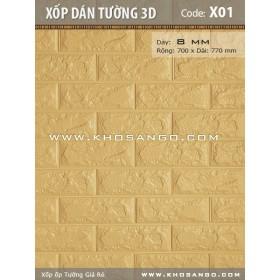 Xốp dán tường 3D X01