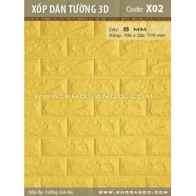 Xốp dán tường 3D X02