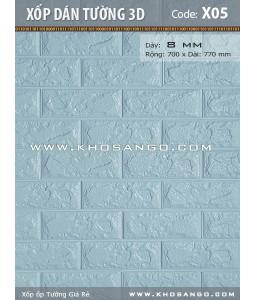 Xốp dán tường 3D X05