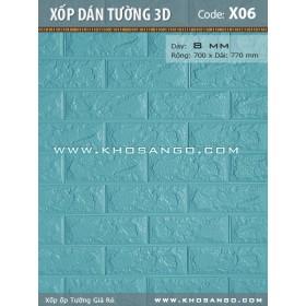 Xốp dán tường 3D X06