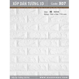 Xốp dán tường 3D X07